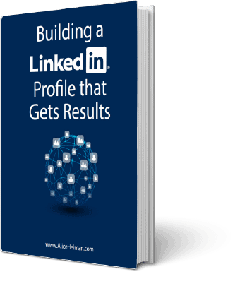 Building a linkedin profile that gets results