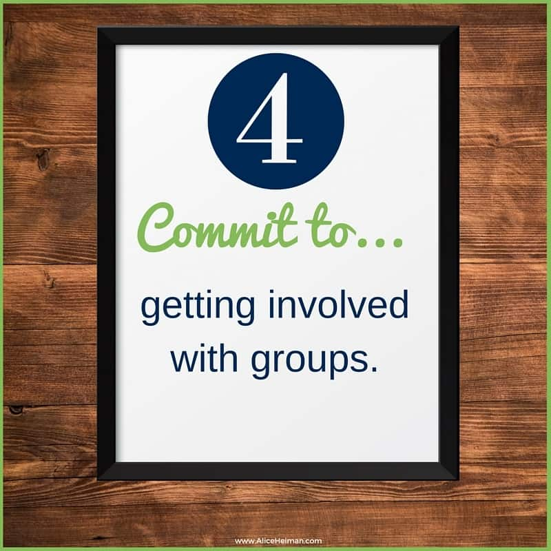 #4 Commit to LinkedIn by getting Inovolved with groups