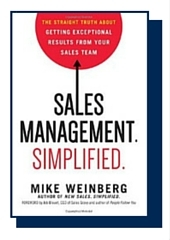Sales Management. Simplified by Mike Weinberg