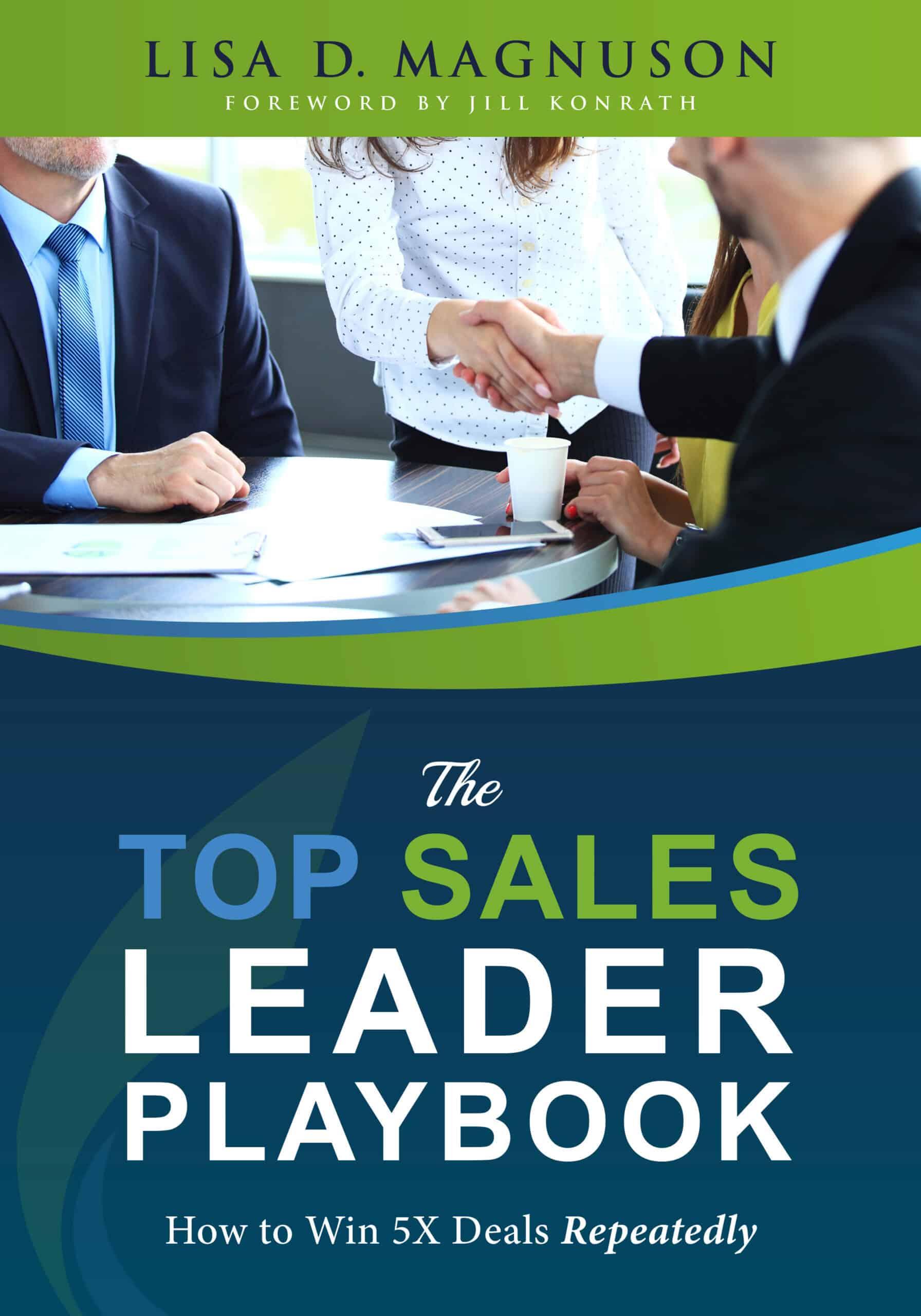 Top Sales Leader Playbook Cover