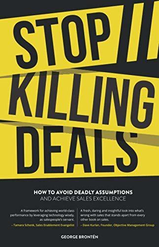 Stop Killing Deals Cover