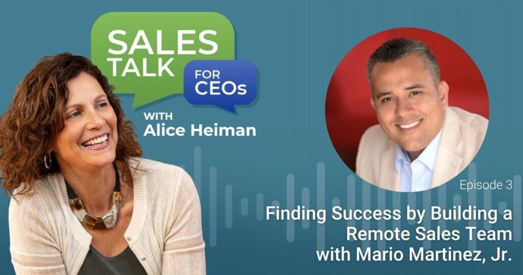 building a remote sales team